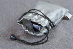 Cassa d'argento per i vetri Fotografia Stock Libera da Diritti