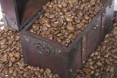 Cassa del caffè fotografie stock
