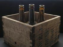 Cassa della birra Fotografia Stock Libera da Diritti
