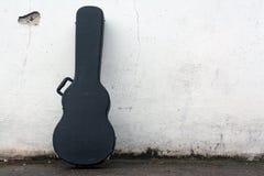 Cassa della chitarra Fotografia Stock