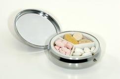 Cassa della pillola Immagini Stock Libere da Diritti