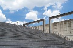 Cassa della scala in su Fotografia Stock