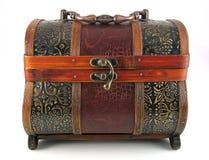 Cassa di legno antica fotografie stock libere da diritti
