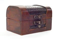 Cassa di legno chiusa Immagini Stock