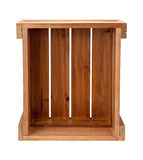 Cassa di legno espandibile Immagine Stock Libera da Diritti
