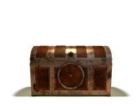 Cassa di tesoro chiusa Fotografia Stock