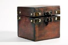 Cassa di tesoro, contenitore di gioiello, regalo, sorpresa! Immagine Stock Libera da Diritti