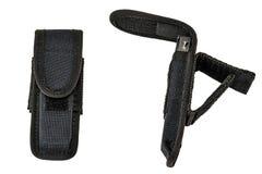 Cassa di trasporto delle armi: il sacchetto tattico militare della cartuccia ha fatto il franco Fotografie Stock Libere da Diritti