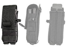 Cassa di trasporto delle armi: il sacchetto tattico militare della cartuccia ha fatto il franco Immagine Stock Libera da Diritti