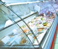 Cassa refrigerata Immagine Stock Libera da Diritti