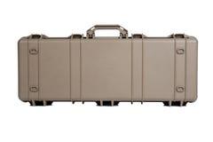 Cassa sicura molle di immagazzinamento nel contenitore di mitragliatrice isolata fotografia stock
