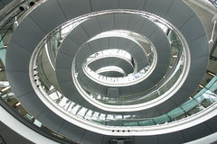Cassa a spirale della scala Fotografia Stock Libera da Diritti