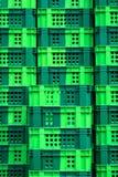 Cassa verde vuota Fotografia Stock Libera da Diritti