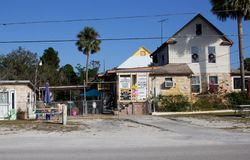 Cassadaga town. Town of Cassadaga, Florida (USA), known for their psychic residents Royalty Free Stock Images