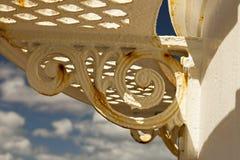 Cassaforma del ferro sul faro Fotografia Stock Libera da Diritti