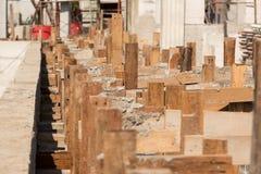 Cassaforma di legno Fotografie Stock