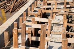 Cassaforma di legno Immagini Stock Libere da Diritti