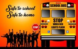 Cassaforte alla scuola Immagine Stock Libera da Diritti