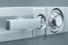 Cassaforte con la serratura di combinazione Fotografia Stock Libera da Diritti