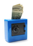 Cassaforte dei soldi Fotografia Stock Libera da Diritti