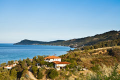 Cassandra Chalkidiki Grecia fotos de archivo libres de regalías