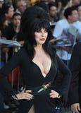 Cassandra Peterson, Elvira Foto de archivo libre de regalías
