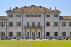 Cassano D ` Adda Milan, Italien: Villa Borromeo arkivfoto