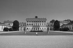 Cassano D ` Adda Milan, Italien: Villa Borromeo arkivfoton