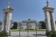 Cassano D ` Adda Milan, Italien: Villa Borromeo arkivbilder