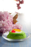 Cassata de massepain Images stock
