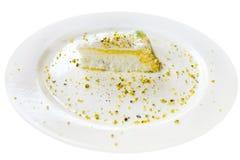 Cassata - dulce tradicional del ricotta Fotos de archivo