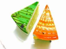 Cassata e pastelaria do quivi imagem de stock