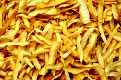 Cassava chip Royalty Free Stock Image