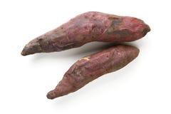 Cassava. Grilled cassava on white background Stock Photo