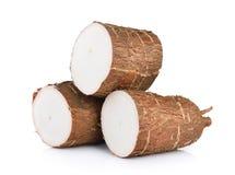Cassava isolated Stock Photos