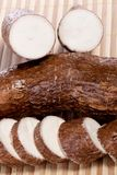 Cassava root Stock Photo