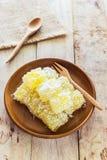 Cassava sweet, Thai Dessert Royalty Free Stock Photo