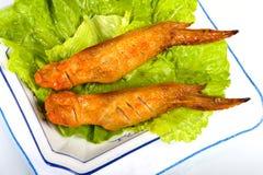 Casse-croûte d'ailes de poulet de barbecue. Photo stock