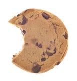 Casse-croûte de biscuit de puce de chocolat Photos libres de droits