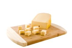 Casse-croûte de fromage Images libres de droits