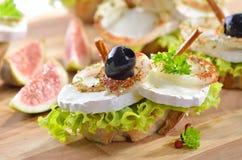 Casse-croûte de fromage Images stock