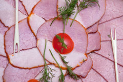 Casse-croûte de la viande de coupure Photos stock