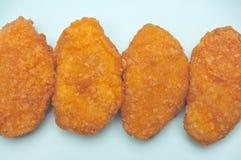 Casse-croûte de pépite de poulet Photo stock