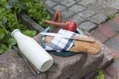 Casse-croûte extérieur Photographie stock libre de droits