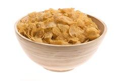 Casse-croûte - flocons d'avoine photo stock