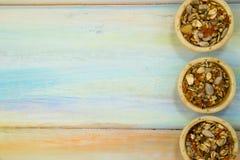 Casse-croûte pour des lapins ou des hamsters Image stock