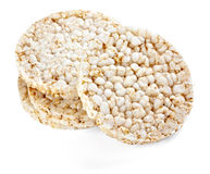 Casse-croûte soufflé de riz Photo libre de droits