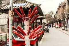Casse-croûte célèbre de Pékin--Haw glacé Image libre de droits