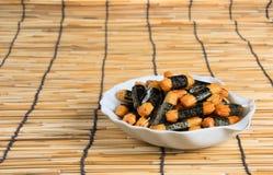 Casse-croûte croustillant japonais. Images stock