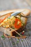 Casse-croûte de fromage Photographie stock